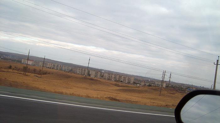 Общий вид на город Орск