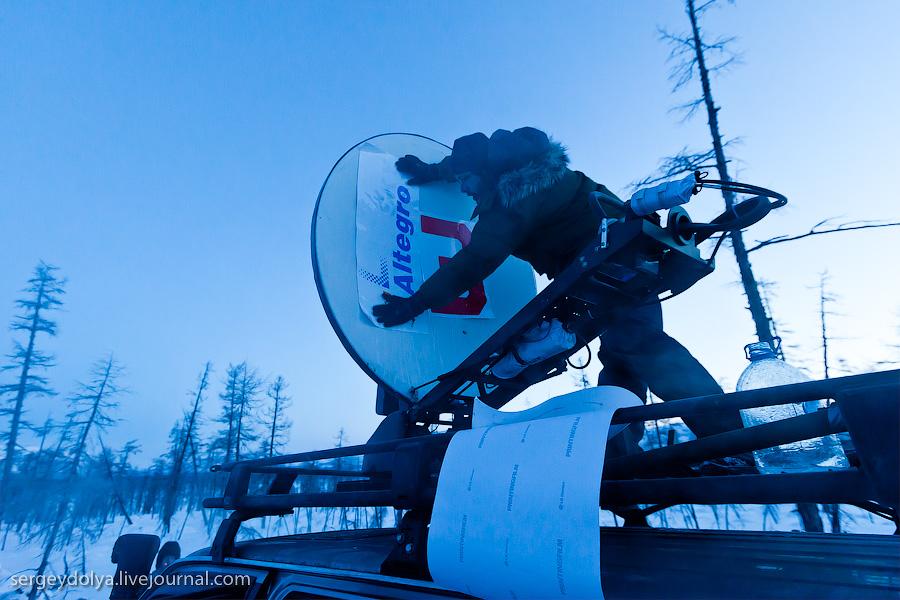 Установка спутникового интернета в Чукотке